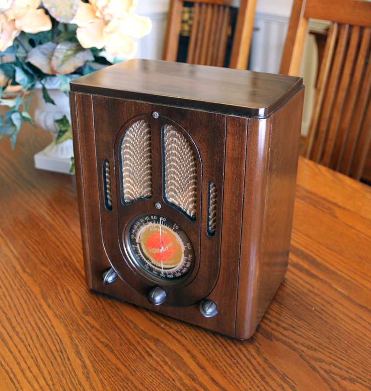 Crosley 517 after restoration by Gray Ghost Electronics
