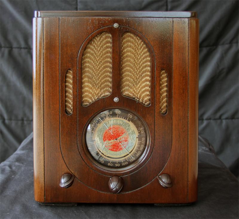 Crosley 517 Restoration by Gray Ghost Electronics